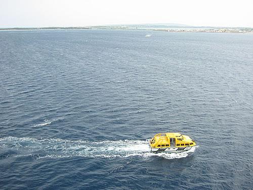Auf Reede vor Formentera