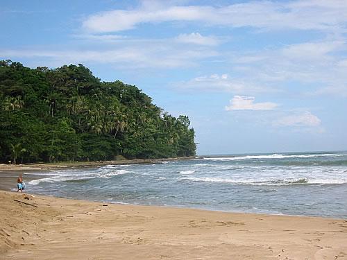 Der karibische Strand von Puerto Limón