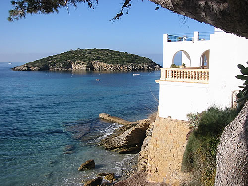 Die Küste von Sant Elm