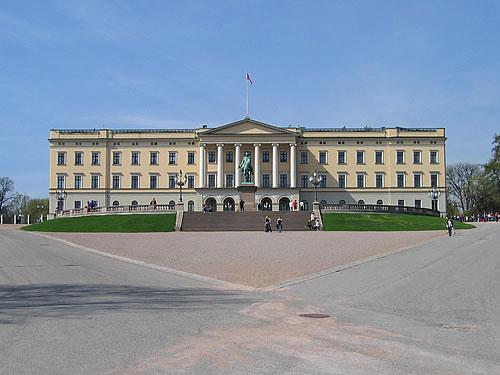 Das königliche Schloss von Mette-Marit