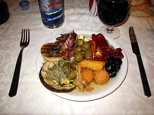 Italienisches Antipasti - eines meiner Leibgerichte