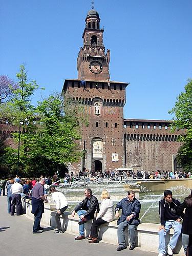 Das Castello Sforzesco