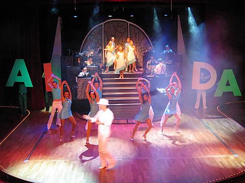 Die Willkommensshow im Theater der AIDA
