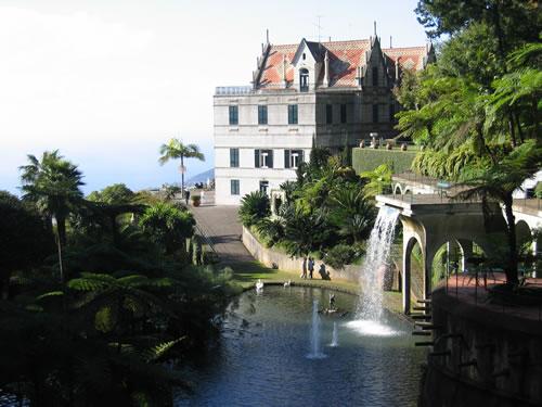 Der 'Palace Tropical Garden'