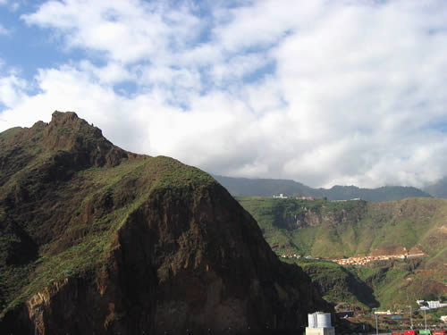 Die immergrüne Landschaft von La Palma