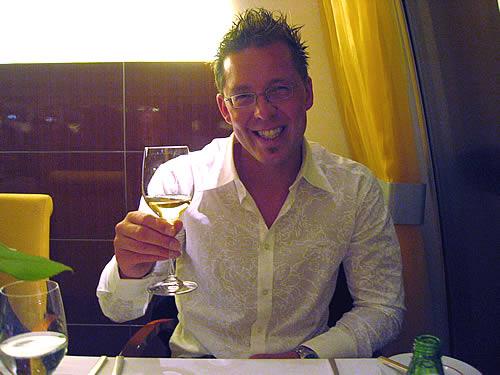 Abends gehen wir fein Essen - in einem der besten Schiffsrestaurants überhaupt: dem AIDA-Rossini