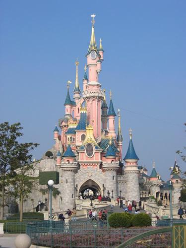 Das Dornröschenschloss im Disneyland Paris
