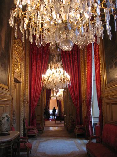 Die Gemächer von Napoleon III. im Louvre