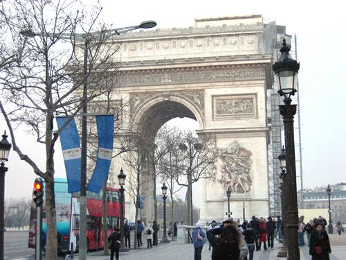 Von Champs-Elysées aus geht's mit der Metro dann zurück zum Flughafen