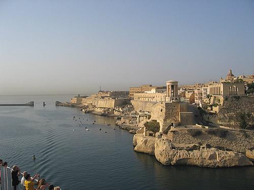 Hafeneinfahrt in Valletta