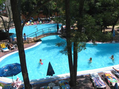 Der Pool ist schön