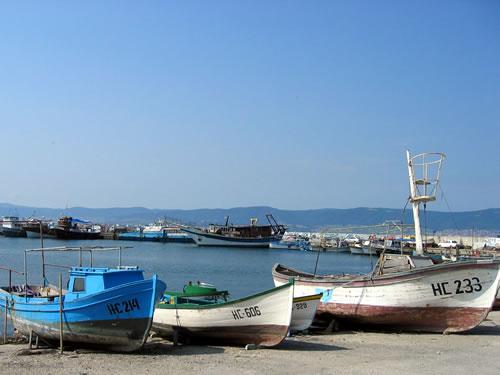 Der Hafen von Nessebâr