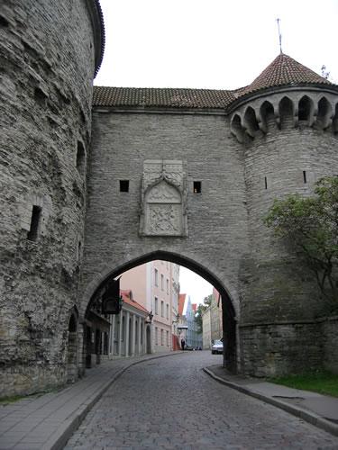 Stadttor vor der Altstadt von Tallinn