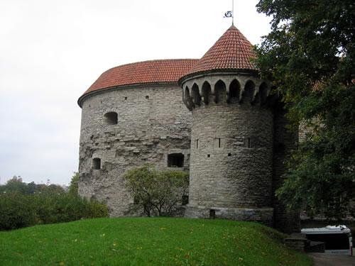 Festungsanlage der Altstadt von Tallinn