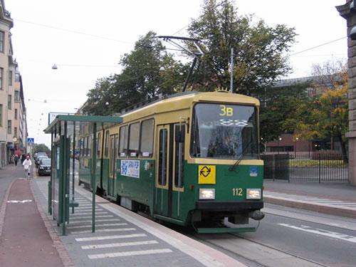 Zum Sightseeing empfiehlt sich die Straßenbahnlinie 3B/3T