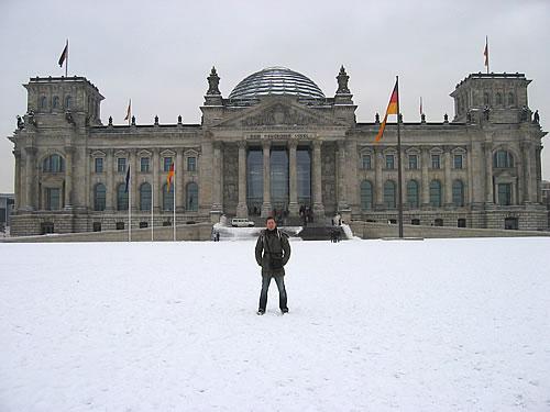 Weiter geht's zum Reichstag