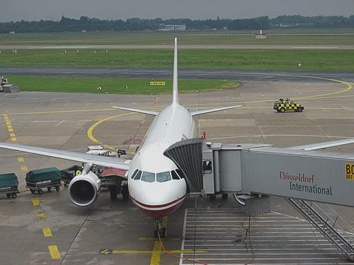 Um 10:25 Uhr geht's von Düsseldorf aus nach Wien