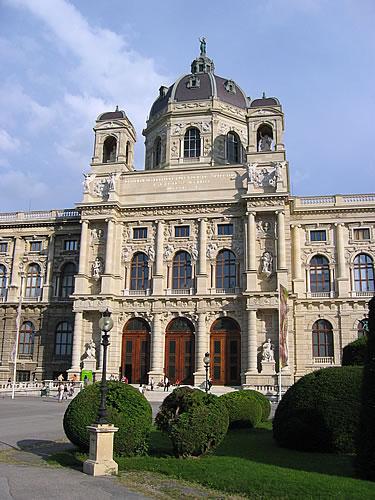 ... und dem kunsthistorischen Museum