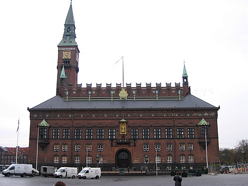 Das Kopenhagener Rathaus