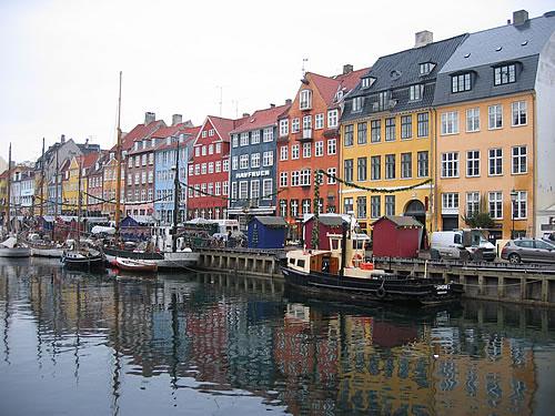 Die bunten Häuser des Nyhavn
