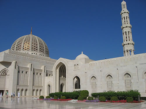 Die Grand Mosque in Muscat
