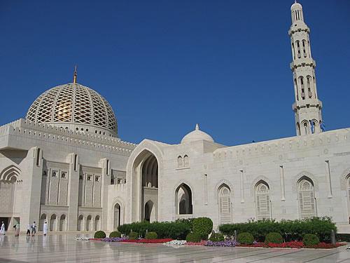 Die Grand Mosque in Muscat