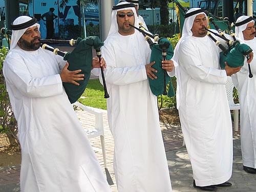 Empfang am Kreuzfahrtterminal von Dubai