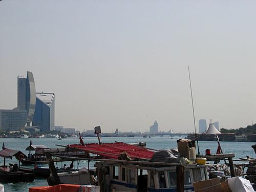 Blick über den Dubai Creek