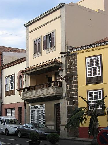 Bis 1823 war San Cristóbal de la Laguna die Hauptstadt der Insel