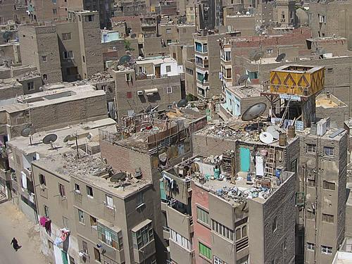 Kairo steht jeden Tag von Neuem kurz vor dem Kollaps
