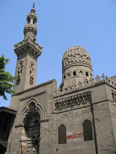 Verträumte Moscheen und den verwinkelte Gassen im islamischen Viertel von Kairo
