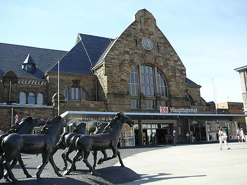 Der Aachener Hauptbahnhof