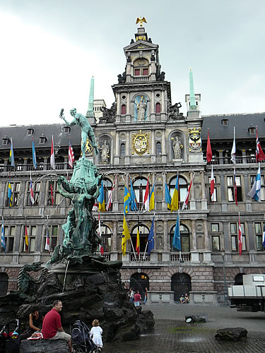 Der Grote Markt in Antwerpen