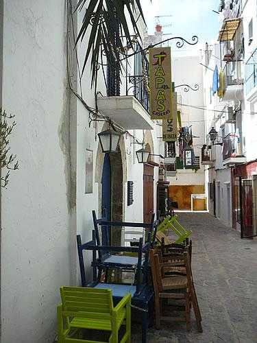 In der Altstadt Ibizas