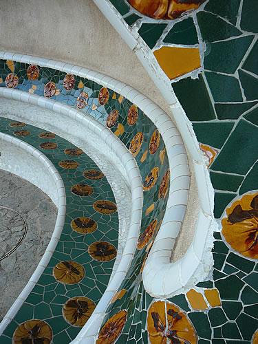 Mosaiken im Park Güell