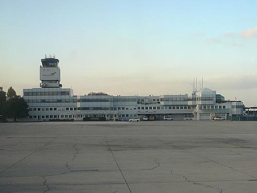 Vom Flughafen Salzburg aus ...