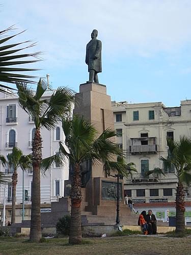 Der Midan Saad Zaghlul, der Hauptplatz von Alexandrias