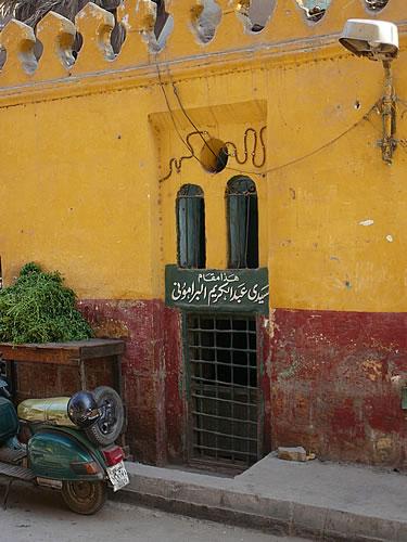 In der islamischen Altstadt von Kairo