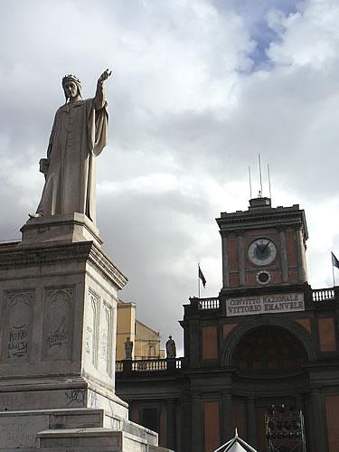 Der Piazza Dante