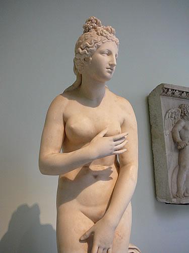 Statue im Nationalmuseum von Neapel