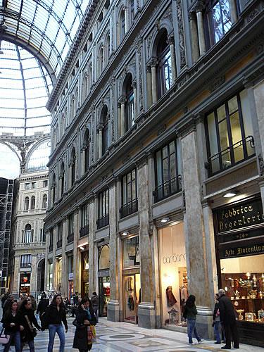 Die Galleria Umberto I.