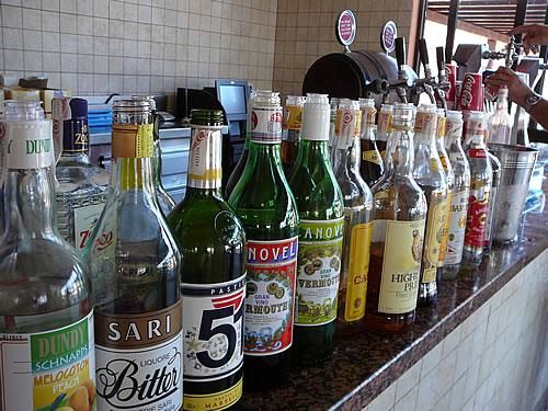 Das All-inclusive-Angebot beinhaltet jegliche Getränke