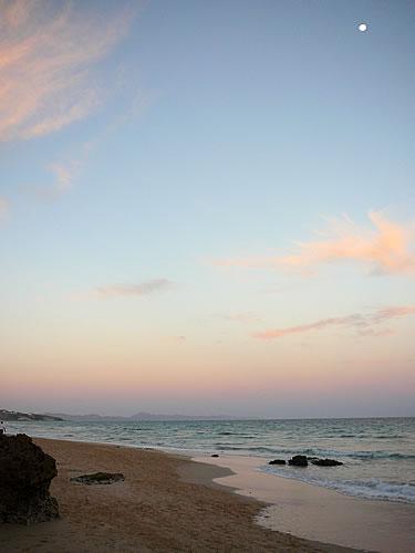 Sonnenuntergan am Jandia Playa
