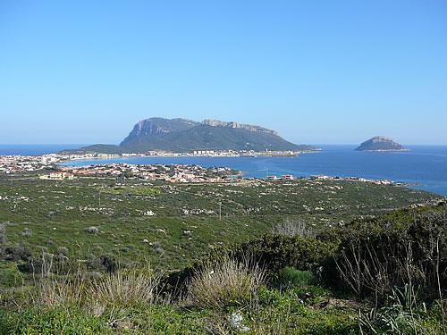 Blick auf die Bucht von Golfo Aranci