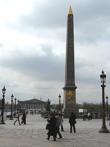 Der Obelisk aus Luxor auf dem Place de la Concorde