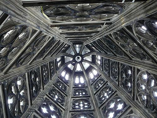 Im Südturm des Kölner Doms