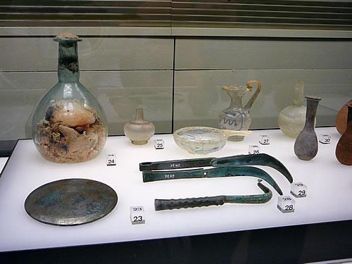 Der Schwerpunkt liegt auf Gegenständen des römischen Alltagslebens