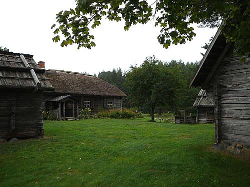 Fischerdorf aus der Region Kurland
