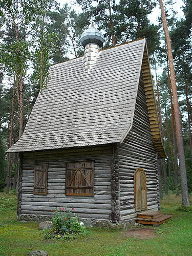 Orthodoxe Kirche aus der Region Lettgallen (erbaut 1930)