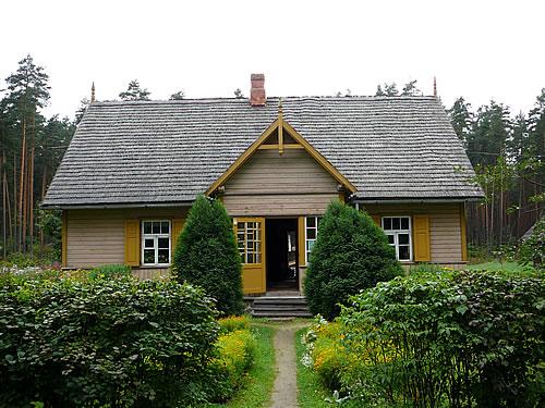 Lettisches Wohnhaus im Ethnografischen Freilichtmuseum